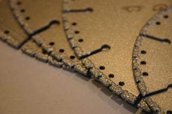 Discos Diamantados Profesionales para corte de Dry Wall, Yeso, Fibra de Vidrio y PVC