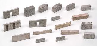 Segmentos Diamantados para el corte de Materiales no Ferrosos