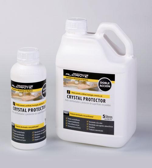 Crystal Protector. Auto-abrillantador y protector de superficies no pulidas