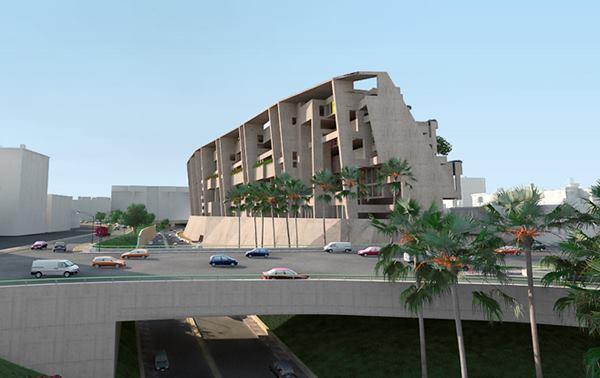 Uso de concreto en nuevo Campus de la UTEC