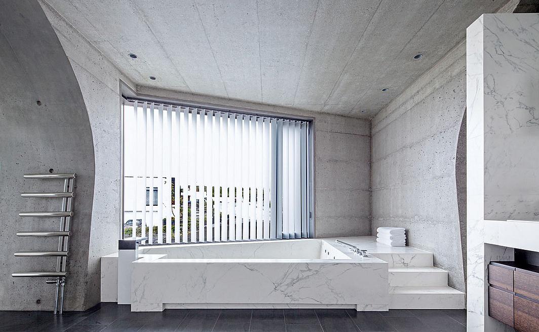 Uso de concreto en el diseño de interiores