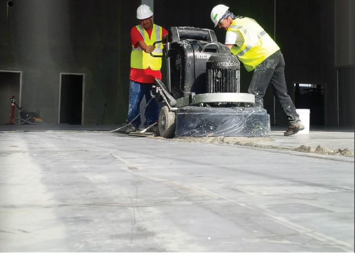Un piso pulido muy resistente
