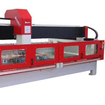 maquina CNC para el trabajo de la piedra y del vidrio